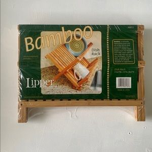 Lipper bamboo dish rack / dish drying rack